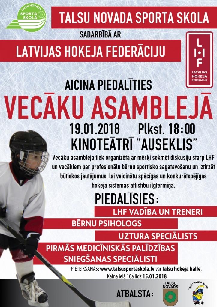 LHF Vecaku asambleja plakāts